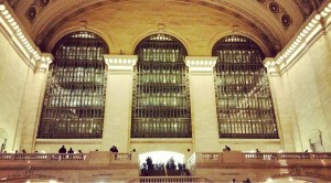 There is nothing like the grandeur of Grand Central.  Is grandeur even a word?
